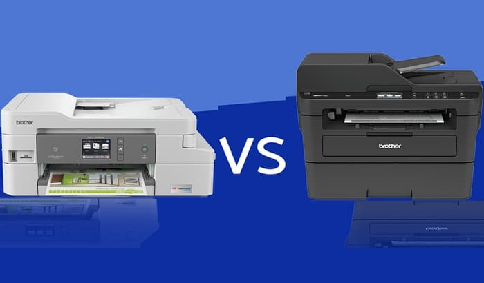 Inkjet Printer vs Laser Printers